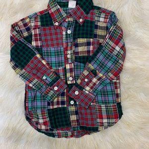 💰BabyGap plaid Flannel Shirt NWT